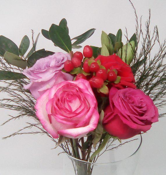 mini valentine's day rose bouquets - esperanza flowers, Ideas